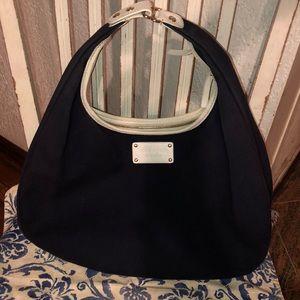 Kate Spade hobo bag Navy/White